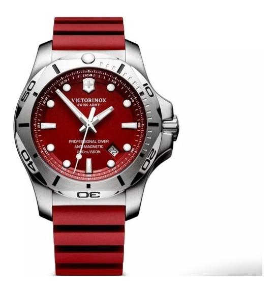 Relógio Masculino Victorinox Swiss Army Red 241719.1 Novo