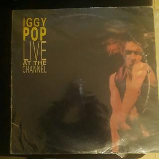 Lp Iggy Pop Live At Channel