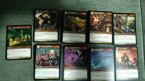 World Of Warcraft - Tranding Cards Game - Cartas De Quest