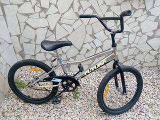 Bicicleta Bmx Rodado 20 Cromada