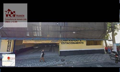 Galpão Para Alugar, 657 M² Por R$ 25.000,00/mês - Centro - Santo André/sp - Ga0053