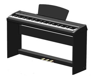 Piano Eléctrico Parquer P9 88 Teclas Martillo Con Mueble