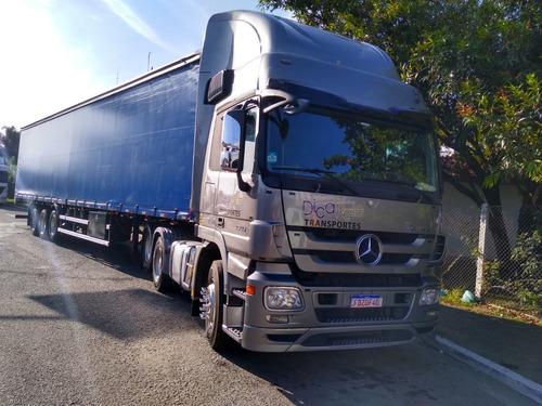 Mercedes Actros 2546 Ls + Sider 28 Pallets