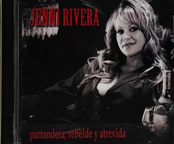 Jenni Rivera, Parrandera Rebelde Y Atrevida Cd Nuevo Sellado