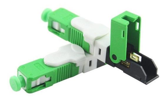 50x Fast Conector Fibra Óptica Reciclável / Modelo: Esc250d
