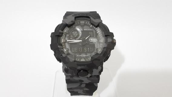 Relógio Smael 8001 B (cinza)