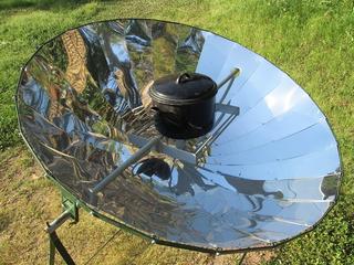 Cocina Solar Parabólica - Cociná Totalmente Gratis!
