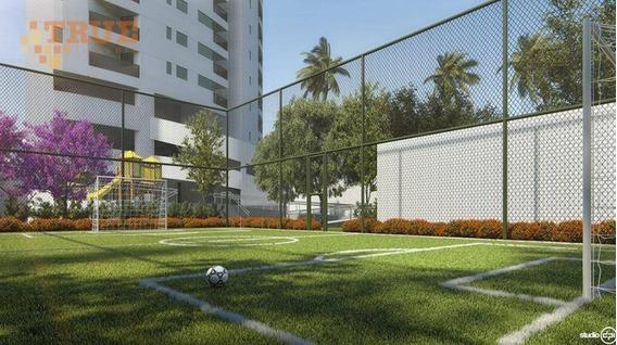Apartamento Com 2 Dormitórios Para Alugar, 63 M² Por R$ 2.500/mês - Torre - Recife/pe - Ap3634