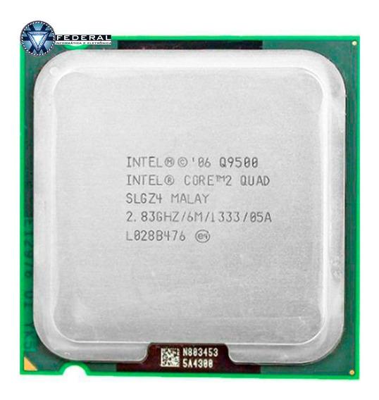 Processador Intel Core 2 Quad Q9500 Slgz4 Lga 775 2.83ghz