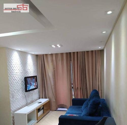 Imagem 1 de 21 de Apartamento Com 3 Dormitórios À Venda, 65 M² Por R$ 359.000,00 - Limão (zona Norte) - São Paulo/sp - Ap4250