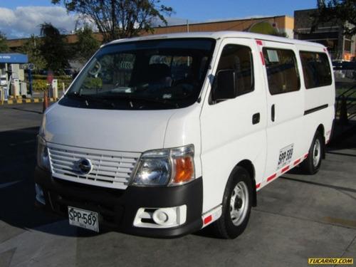Autobuses Microbuses Nisssa Urvan