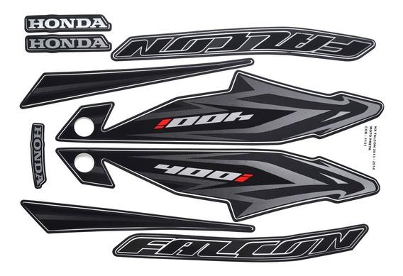 Faixas / Kit Adesivos Honda Nx400 Falcon 2013 / 2014 Preta