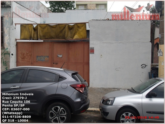 Comercial Para Venda, 0 Dormitórios, Penha De França - São Paulo - 518