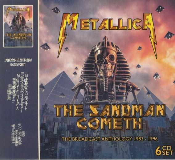 Metallica The Sandman Cometh ( Digipack Com 6 Cds ) Lacrado