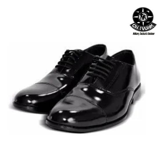 Sapato Preto Social Formatura Exército - Atalaia