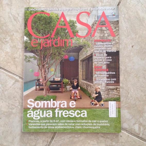 Revista Casa E Jardim Nov2012 N694 Sombra E Água Fresca