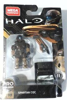 Spartan Cqc Halo Megaconstrux Serie 11