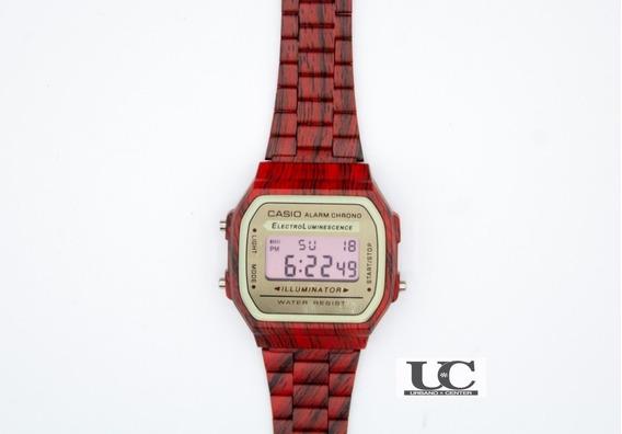 Relógio Casio Vintage Amadeirado Top - Feminino
