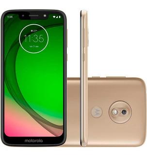 Smartphone Moto G7 Play, Dourado, Xt1952, 5.7 , 32gb, 13mp
