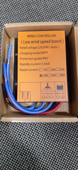 Controlador Eólico Mppt 500w 12v24v Laranja