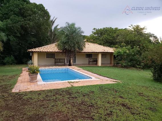 Chácara Com 5 Dormitórios Para Alugar, Eventos, Retiros, Temporada, Por R$ 1.500/dia - Ribeirão Do Lipa - Cuiabá/mt - Ch0005