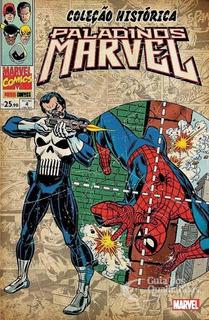 Hq Gibi Coleção Histórica Paladinos Marvel 4