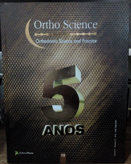 Orthodontic Science And Practice - Volume 5 - Número 19