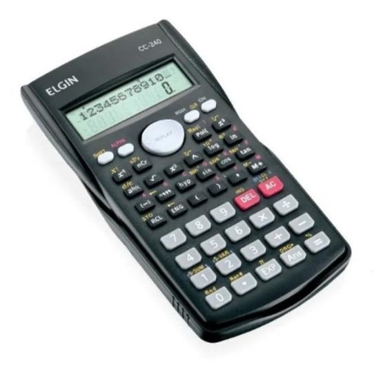 Calculadora Cientifica 240 Funcoes 12dig.visor 2 Linh Elgin