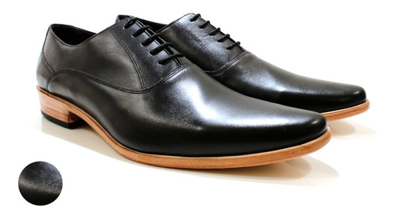 Zapato Hombre Oxford Cuero Vacuno Diseño Romeo By Ghilardi