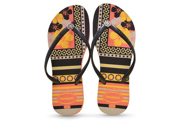Chinelo Feminino Havaianas Slim Thematic