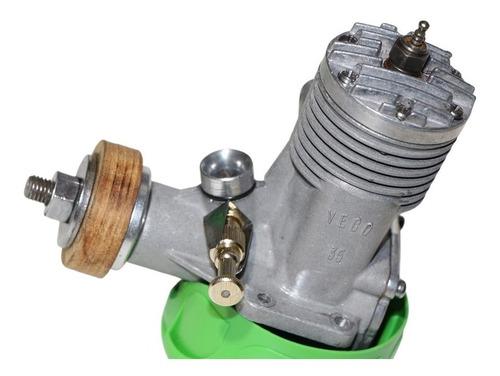 Motor Glow V E C O .35   V C C - Stunt - R A R I D A D E !