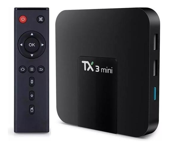 Tv Box Tx3 Mini Conversor Smart Tv 2gb Ram 16gb