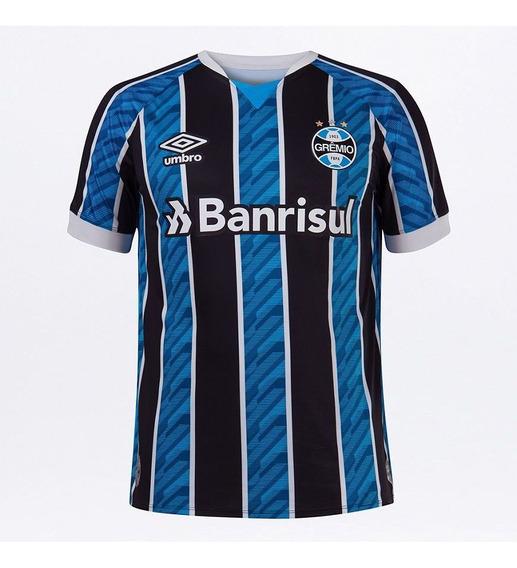 Camisa Umbro Grêmio Oficial I 2020 Clássica S/n