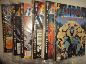 Batman A Queda Do Morcego 1 A 19 Editora Abril Otimas