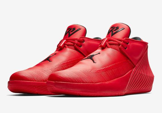 Tenis Nike Jordan Why Not Zer0.1 Low Gs Rojos Originales Nuevos En Caja