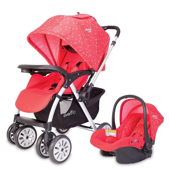 Carriola Bebe Evenflo Orion Portabebe Reclinable Reversible