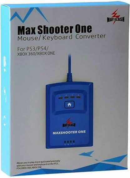 Max Shooter,adaptador Console:ps4,ps3,xbox 360 E Xbox One