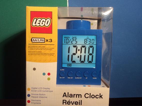 Reloj Despertador Lego Monobloque