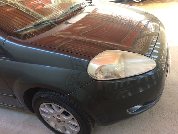 Fiat Punto Elx 1.4 - Flex - Cinza - Completo