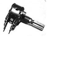 10x Potenciometro Duplo Linear L20/16mm B50k 50kb/ 10pç