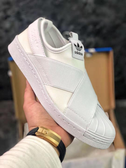 Tênis adidas Slip On Superstar