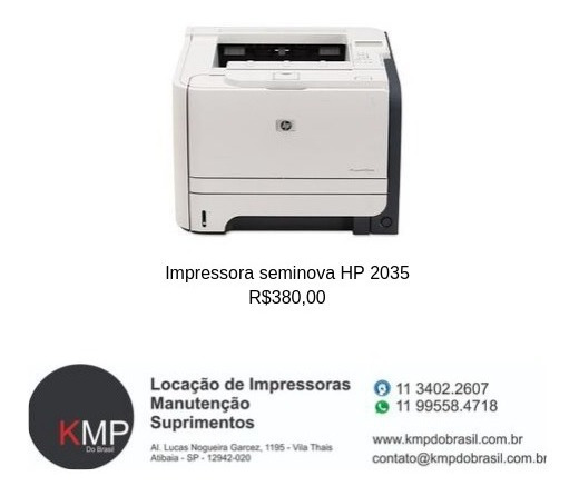 Impressora Hp2035