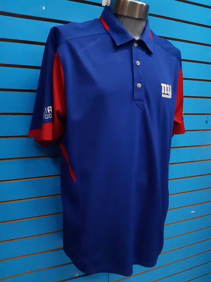 Camisa Polo Gigantes Ny Reebok Nfl L_grande Nueva Original