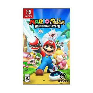 Juego Mario + Rabbids Kingdom Battle Nintendo Switch Nuevo