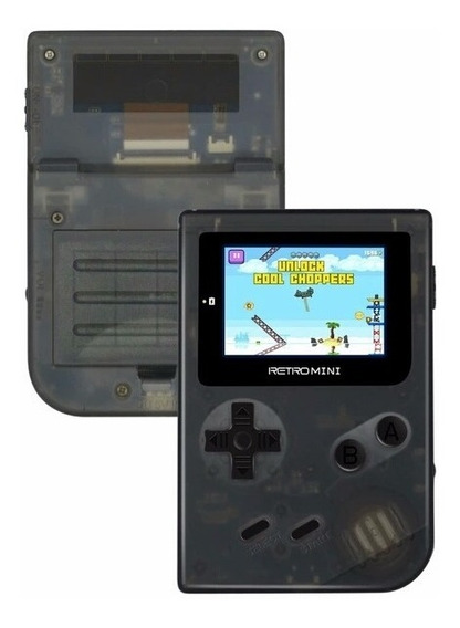 Retro Mini Game Rs-90 Portatil = Gba, Gbc, Add +jogos Por Sd