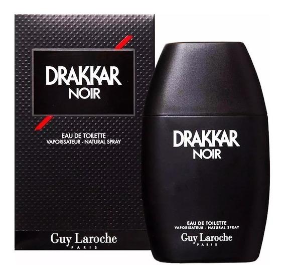 Perfume Drakkar Noir Guy Laroche 200ml Original + Nota Danf