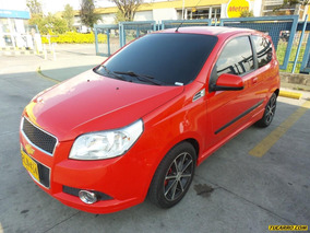 Chevrolet Aveo Emotion Gti Mt 1600 Cc 3p Aa Ct