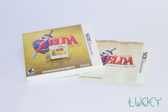 The Legend Of Zelda Ocarina Of Time 3d - Nintendo 3ds/2ds