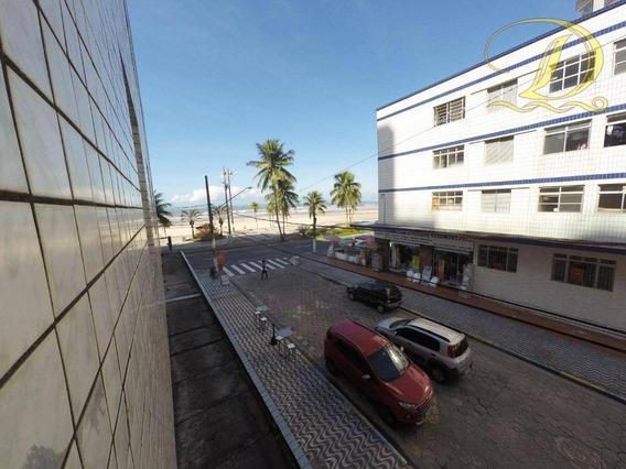 Apartamento De 2 Quartos Para Locação Definitiva Em Praia Grande Na Aviação Com Vista Do Mar!!! - Ap2637
