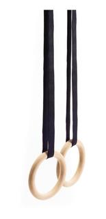 Anillas Anillos Gimnasia Gymnastic Ring Funcional Madera